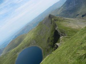 Red Tarn from Striding Edge (Jenny Haughton)